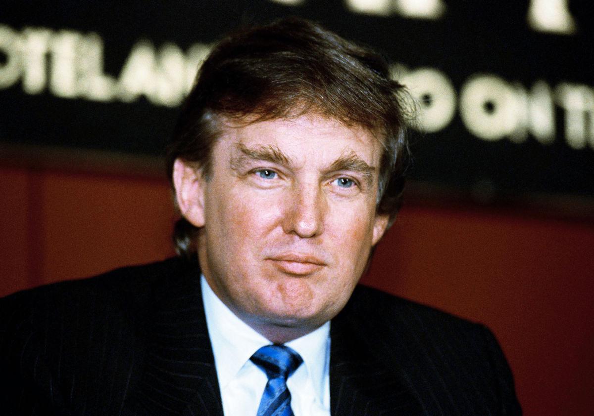 картинки дональд трамп в молодости время эфемерно
